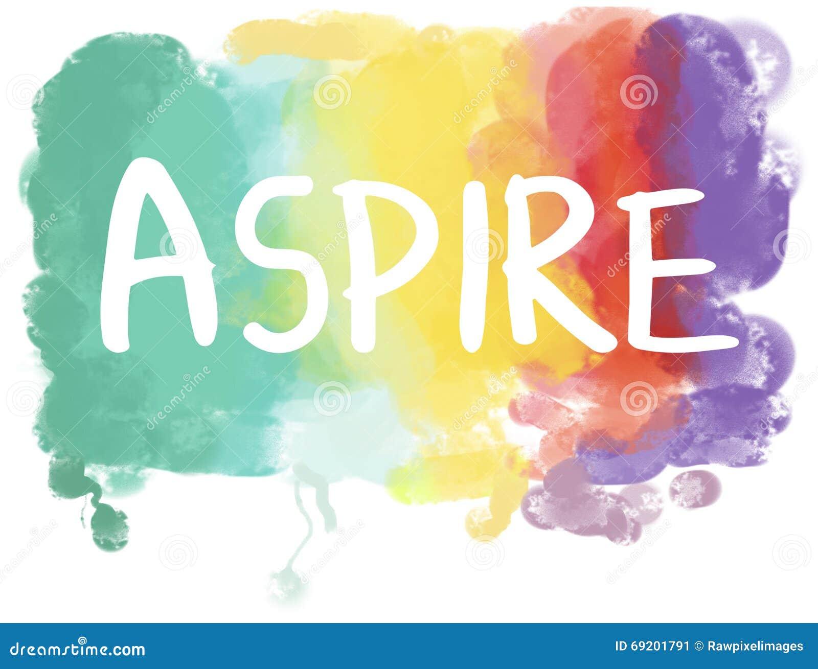 Aspirations Desire Dream Ambition Goals Concept