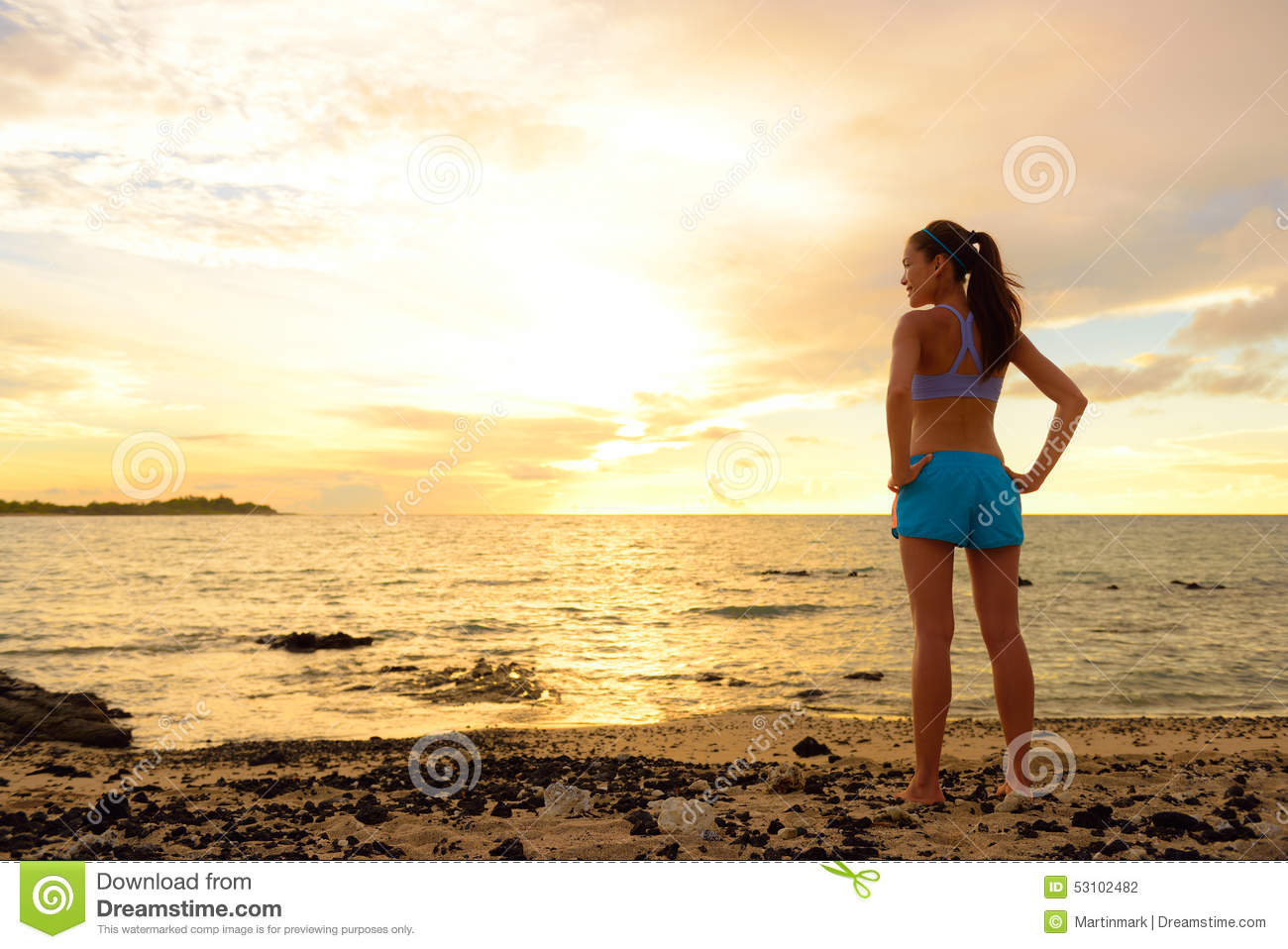 Aspirations - woman looking away with inspiration