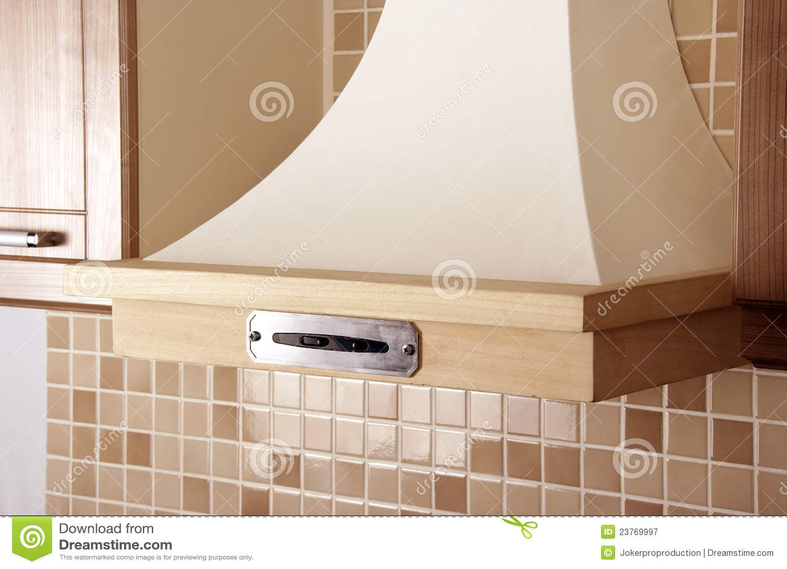aspiratore per la cucina moderna immagine stock immagine