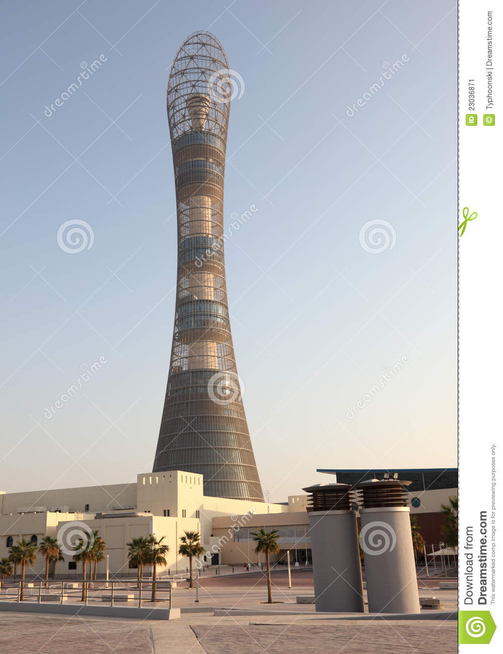 The Aspire Tower in Doha