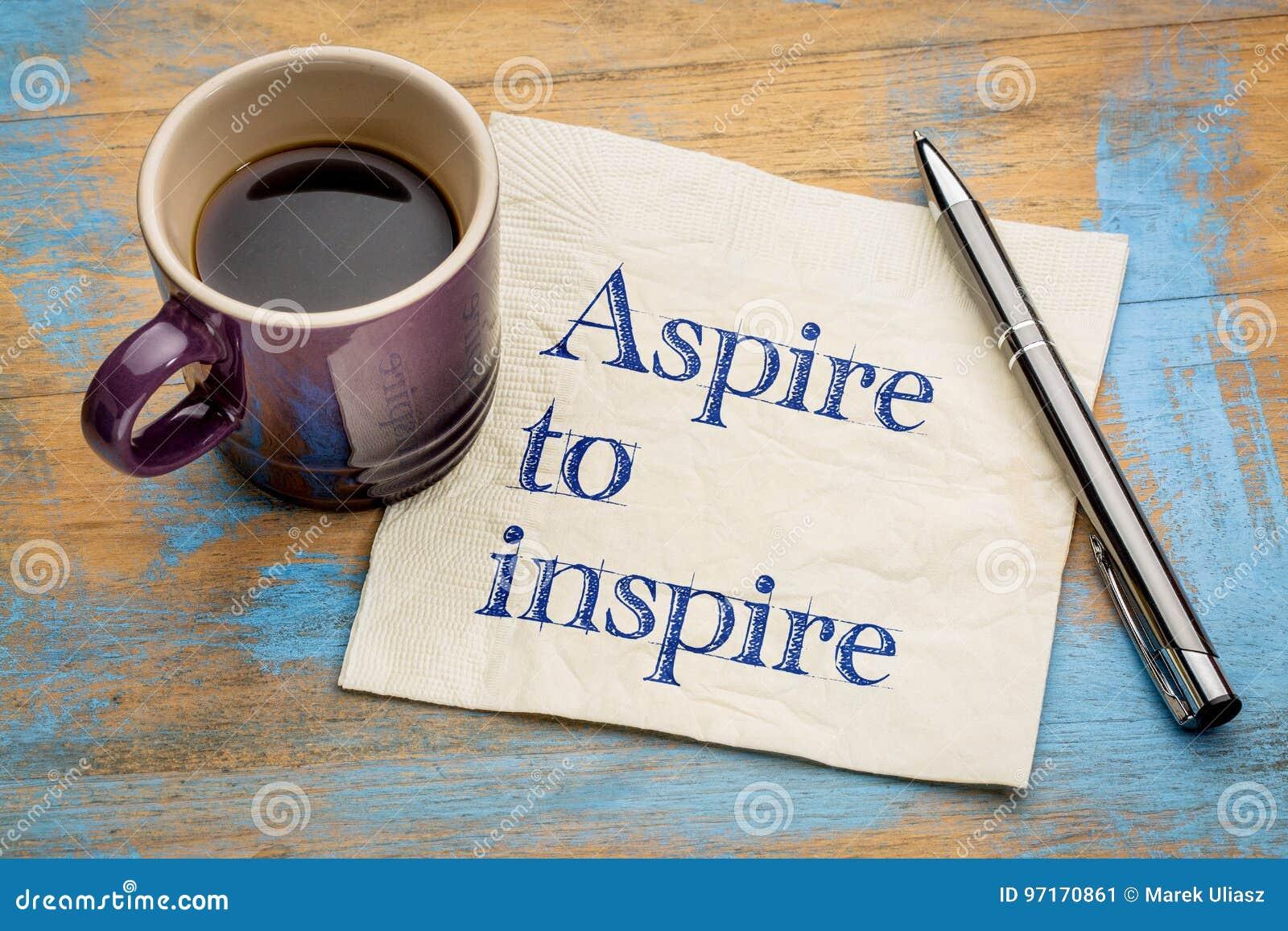 Aspiruje inspirować pieluchy notatkę