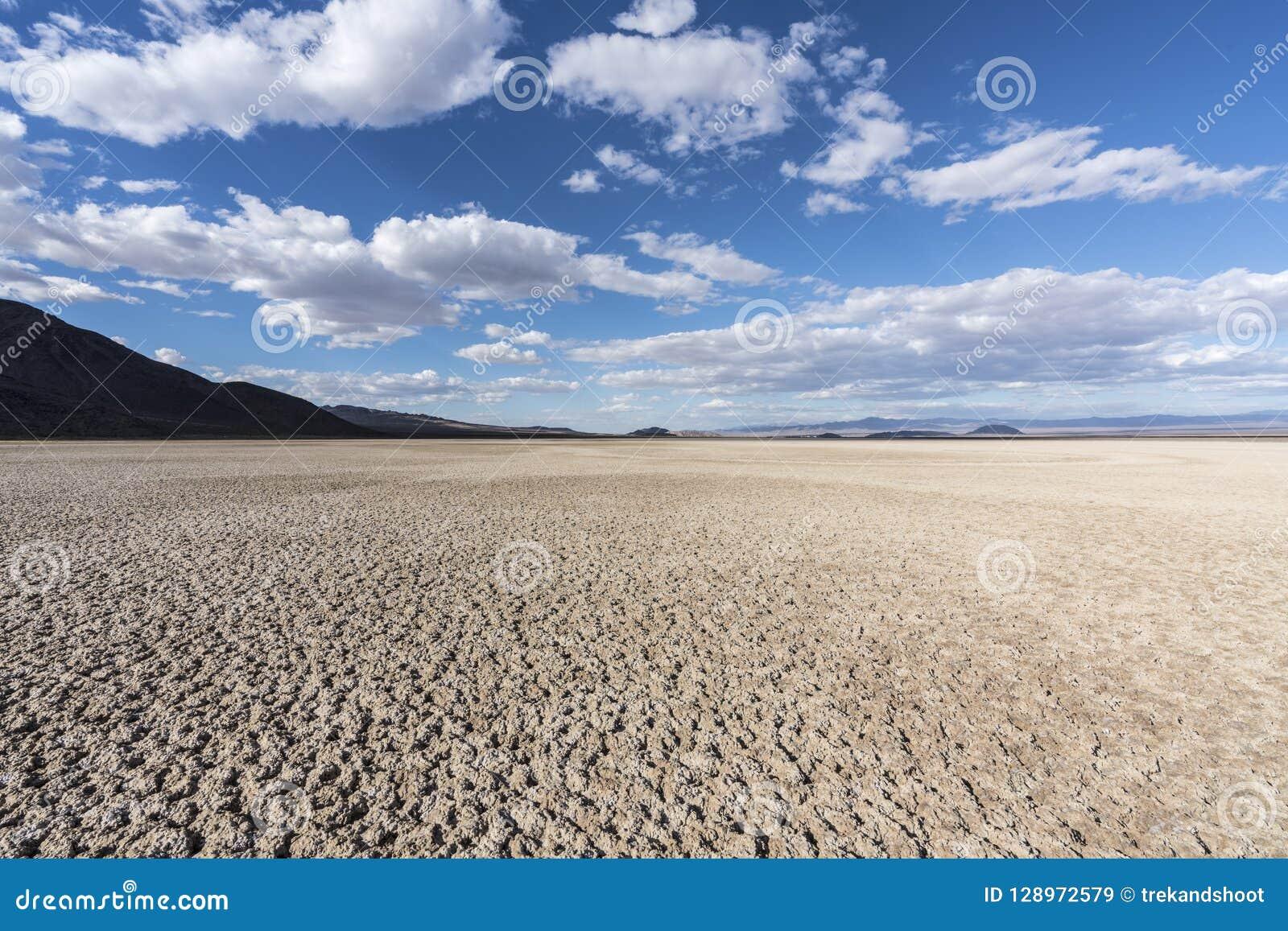 Assèche preserve nationale de Mojave près de Zzyzx la Californie