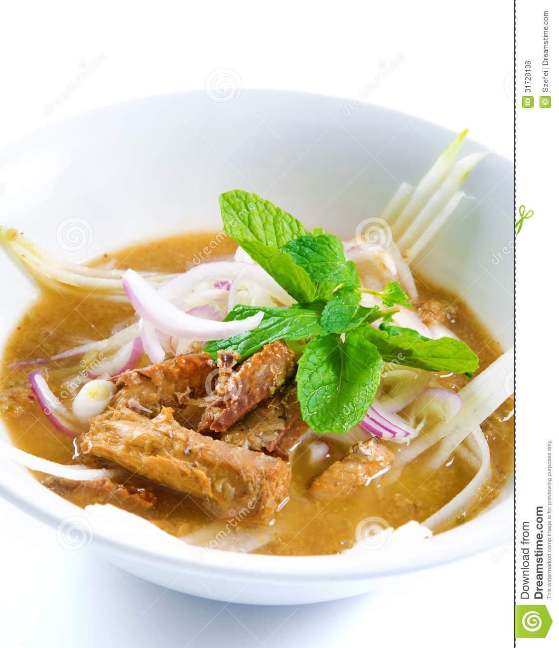 Assam laksa royalty free stock photos image 31728138 for Authentic malaysian cuisine