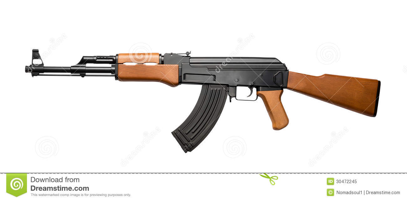 Assault rifle AK-47