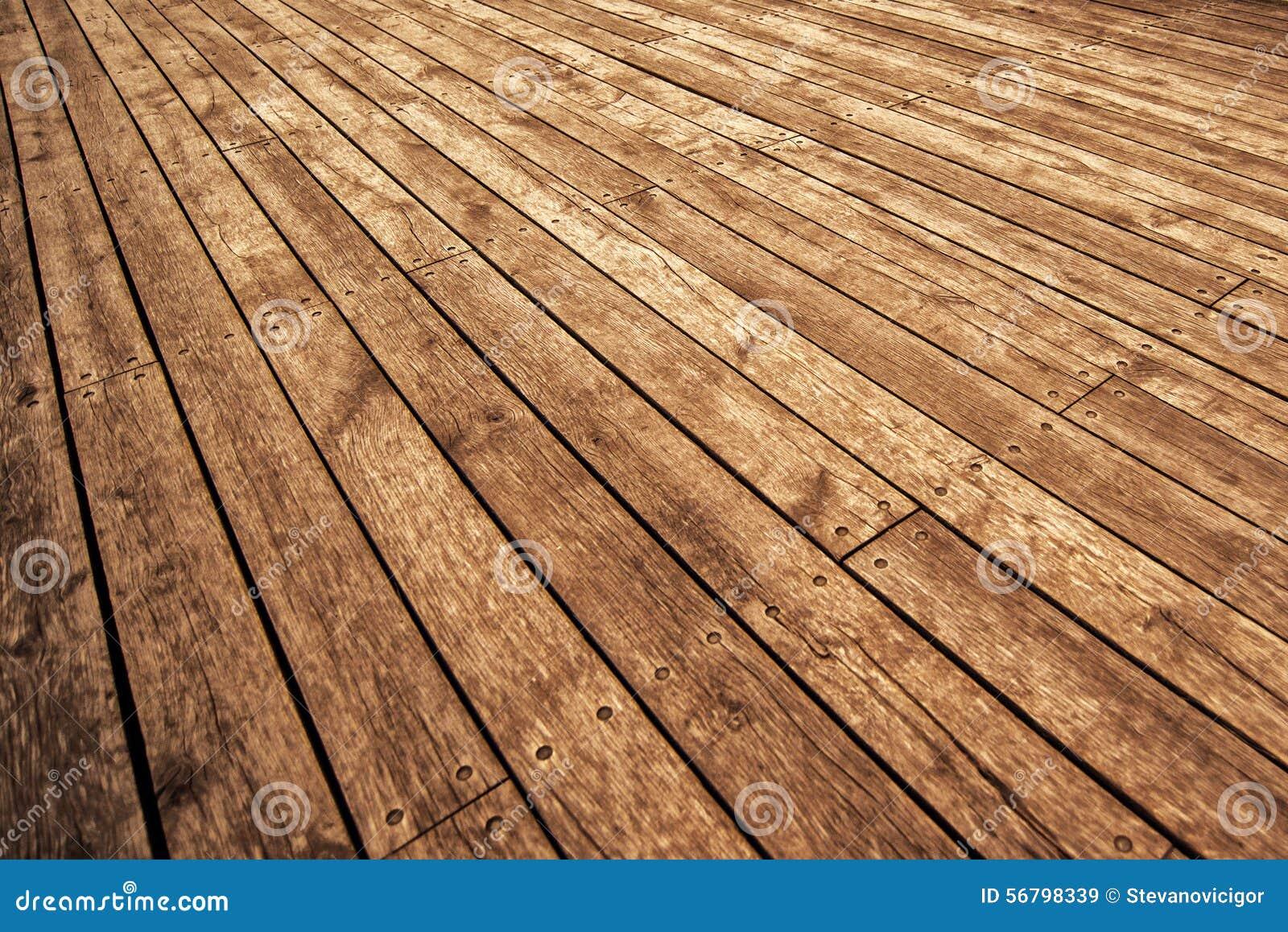 Assi Di Legno Rustiche : Asse del pavimento di legno rustica nella prospettiva immagine