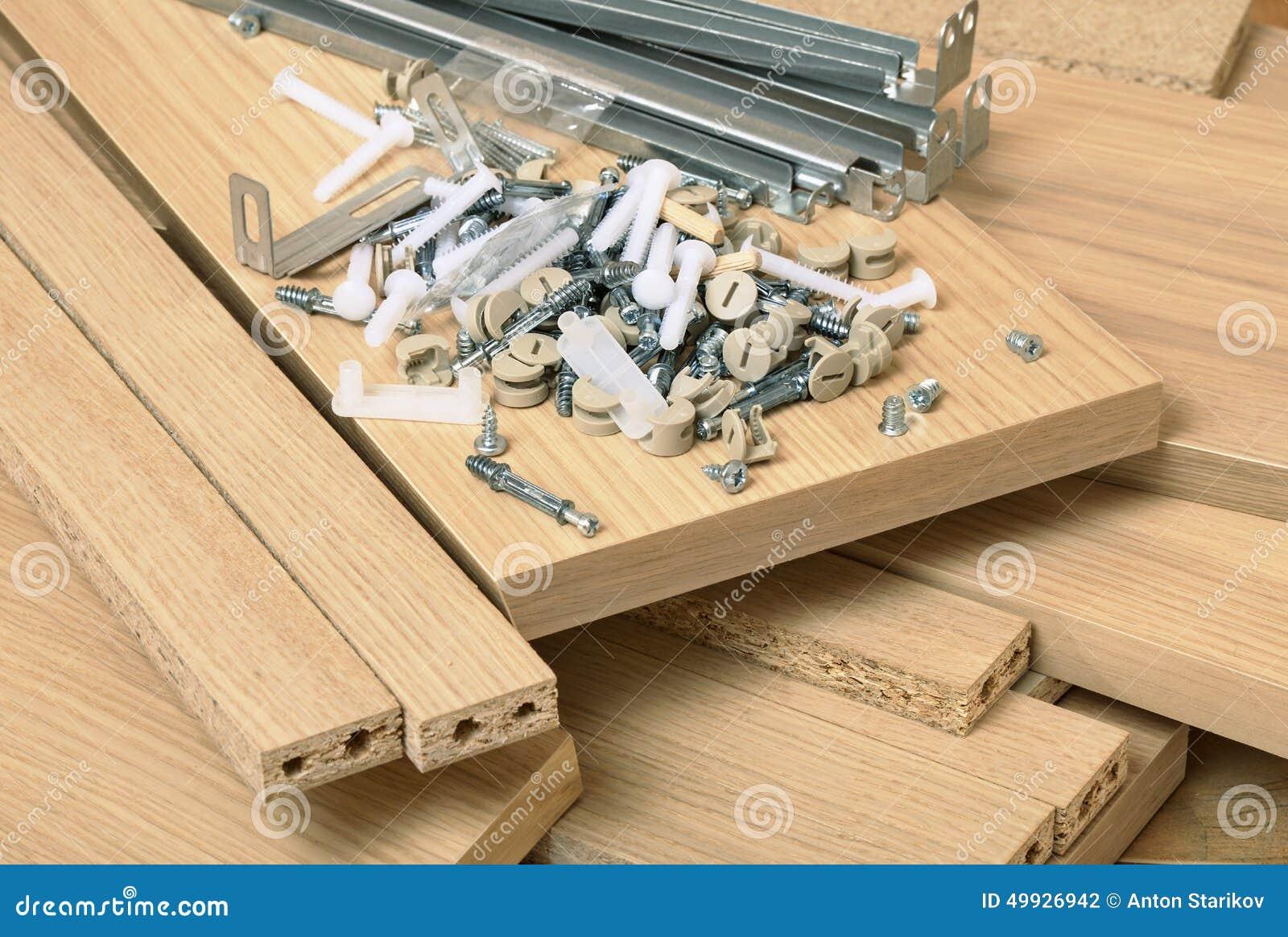 Assembling furniture