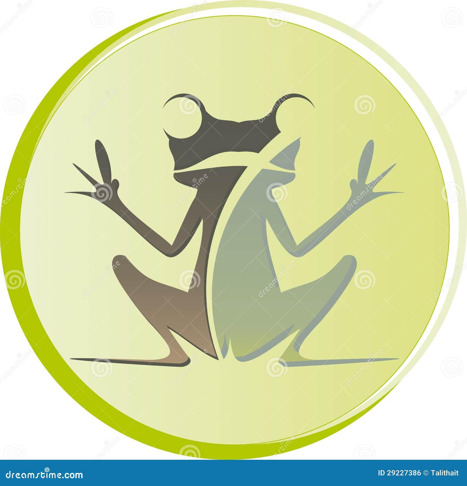 Download Assento da rã do logotipo ilustração do vetor. Ilustração de gráfico - 29227386
