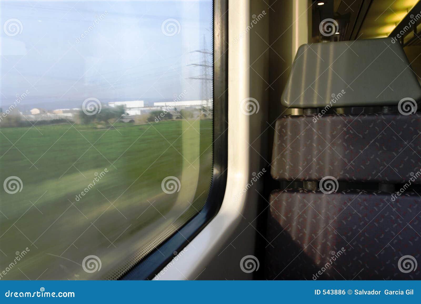 Assento do trem