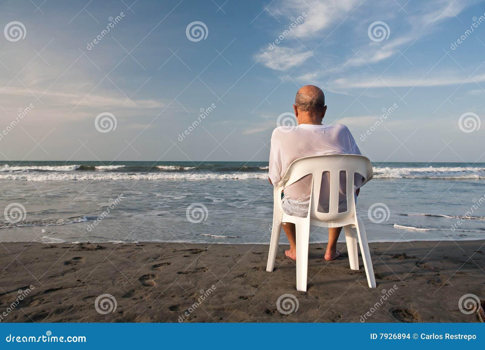 Assento na praia