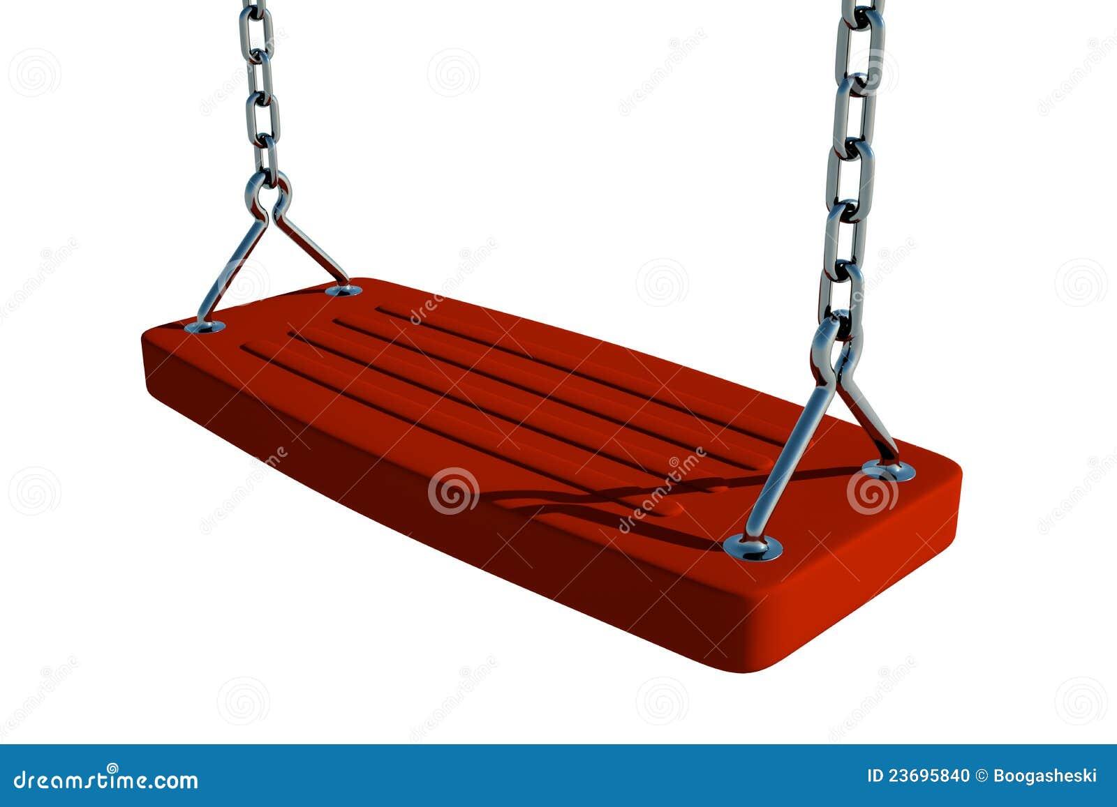 Assento Vermelho Do Balanço Foto de Stock Imagem: 23695840 #881704 1300x957