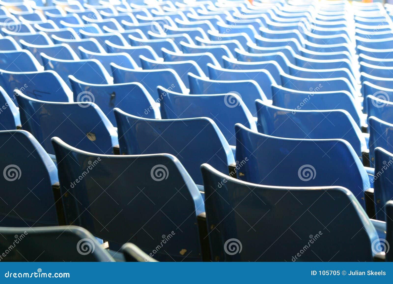 Assentos 2 do futebol