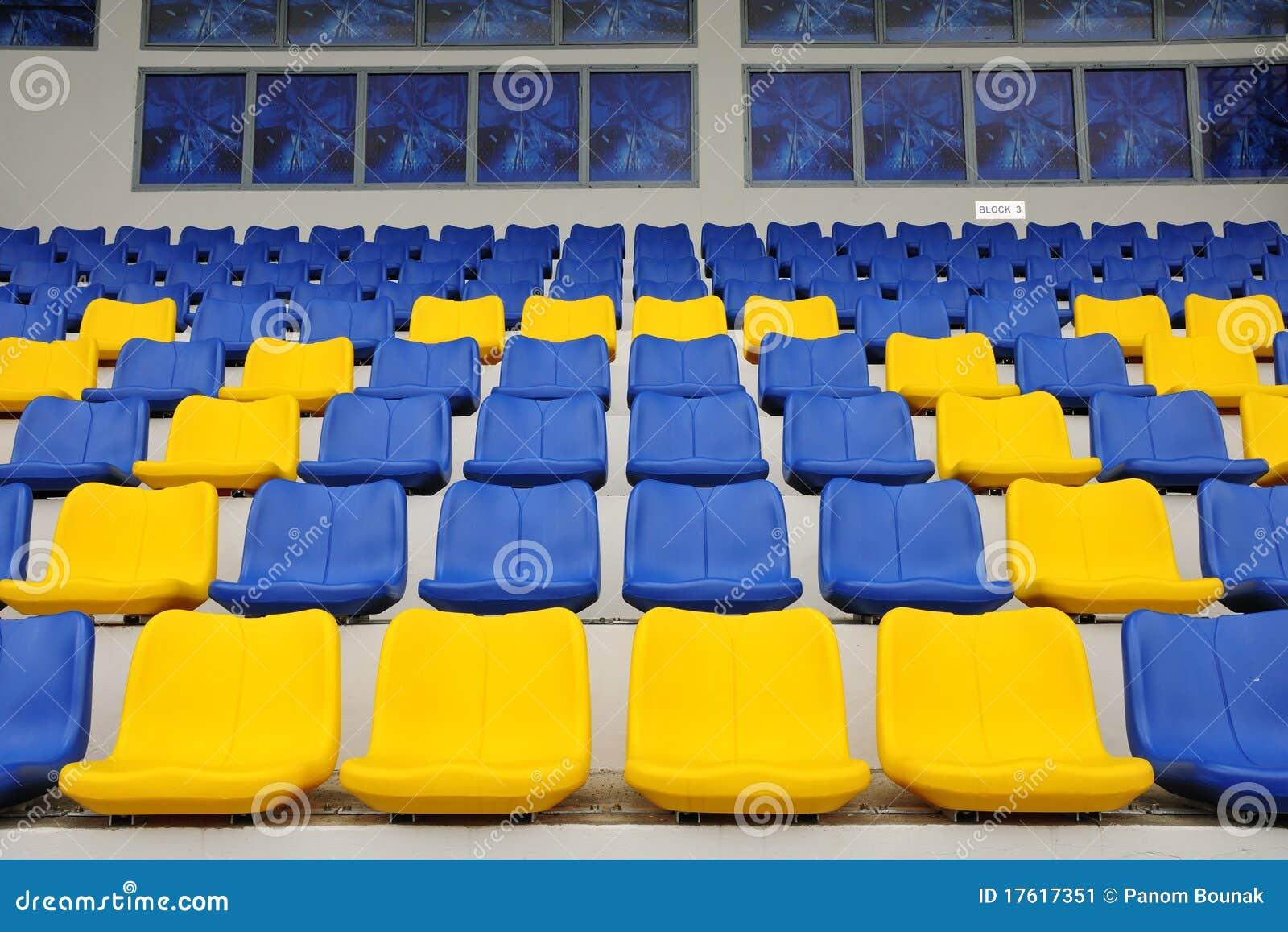Assentos do estádio