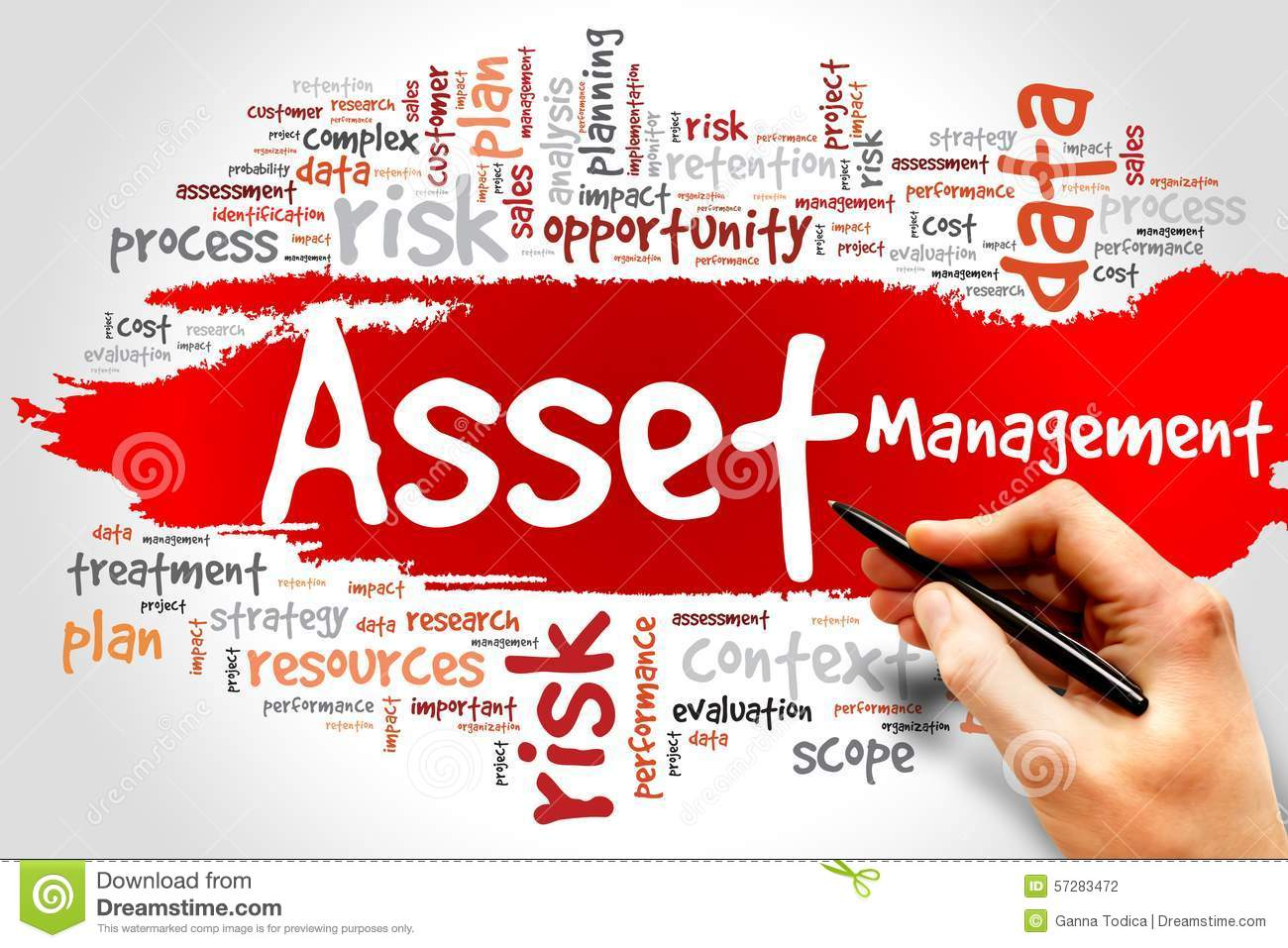 Asset Management Stock Photo - Image: 57283472