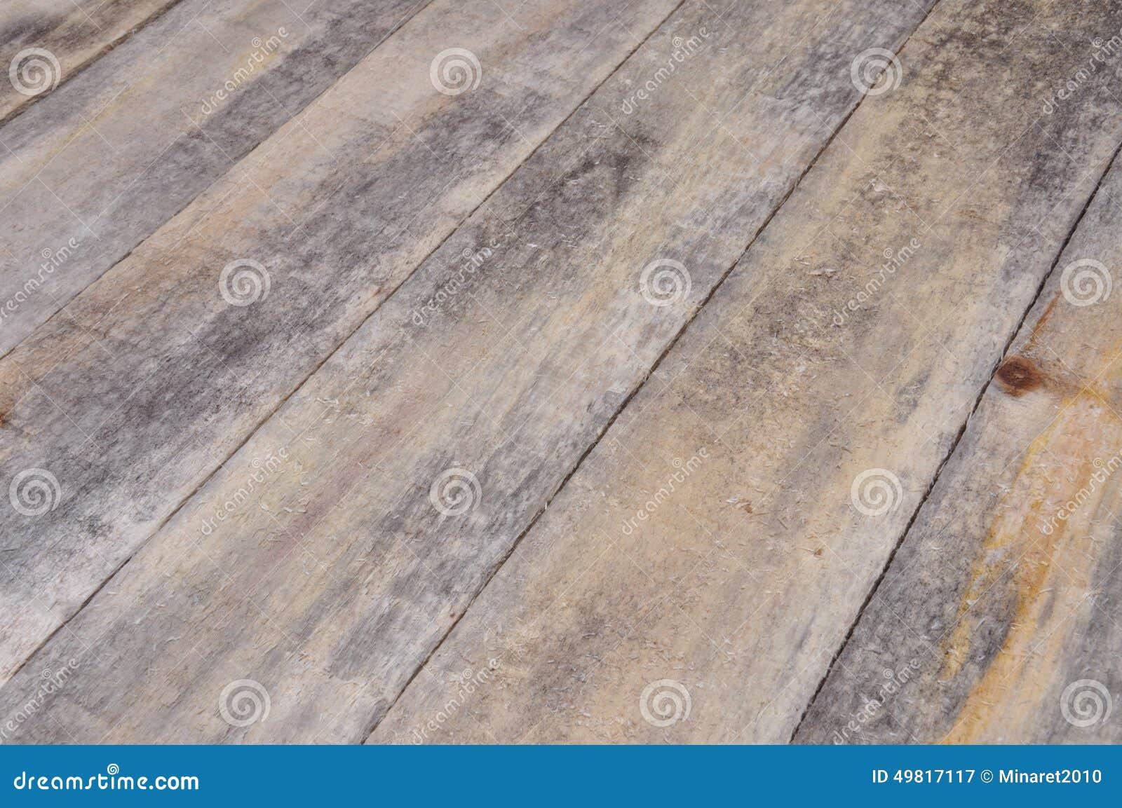 Assi Di Legno Grezze : Assi del pavimento di legno con la prospettiva immagine stock