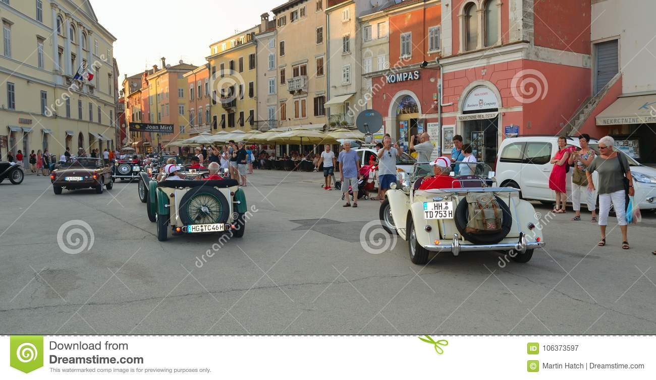 Ass Ic assic mg sports cars in town square rovinj in tour of