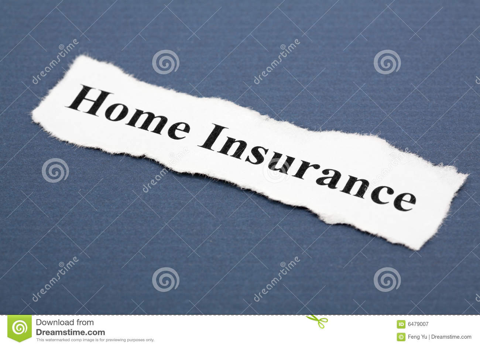 assicurazione domestica immagine stock immagine di titolo