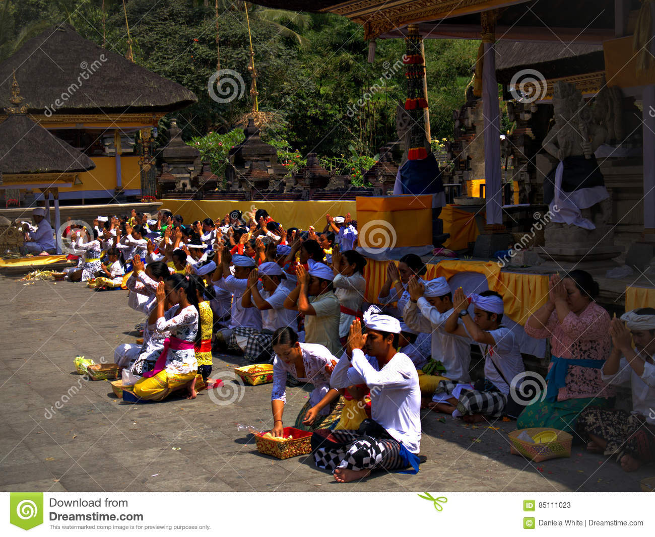 `assignment files`Temple of Holy Waters , Bali, Indonesia , Asi