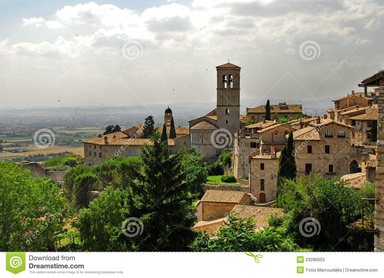 Assisi, Ombrie