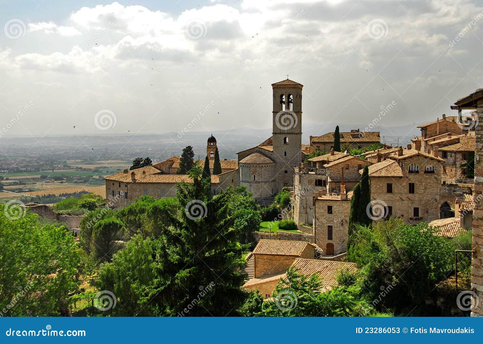 Assisi, Umbría