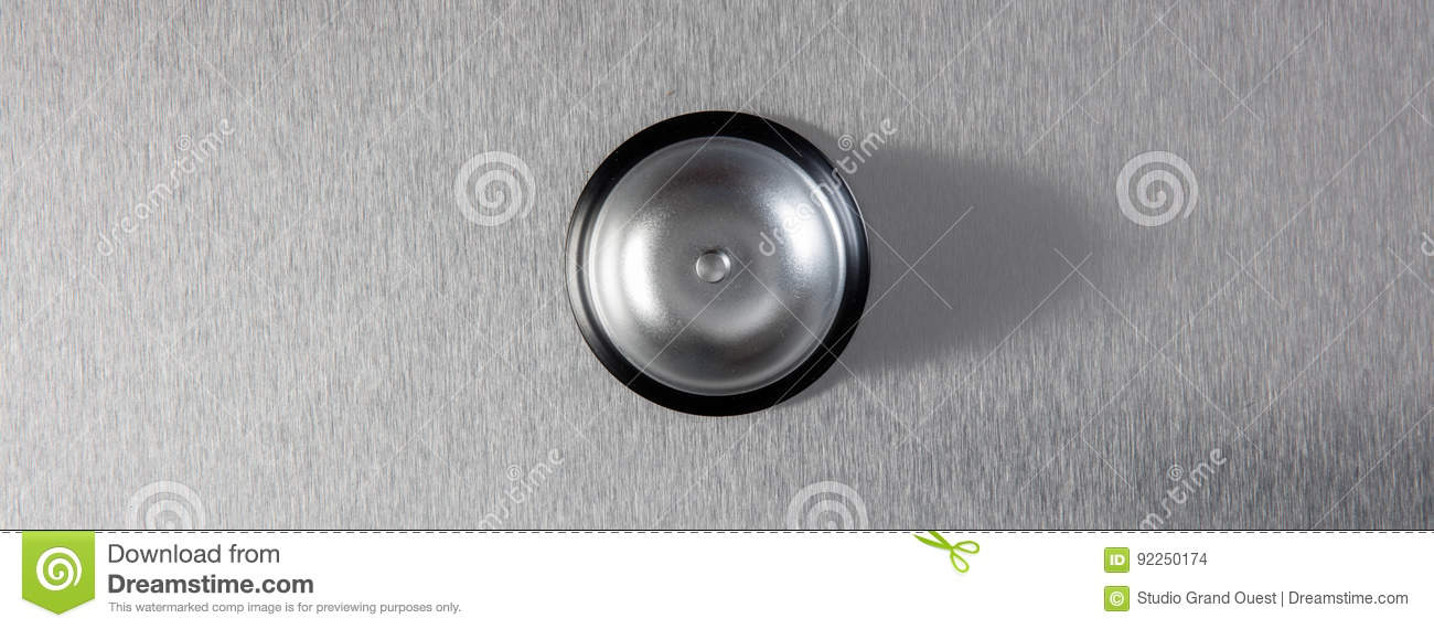 Assistance bell for symbol of urgent signal or customer complain