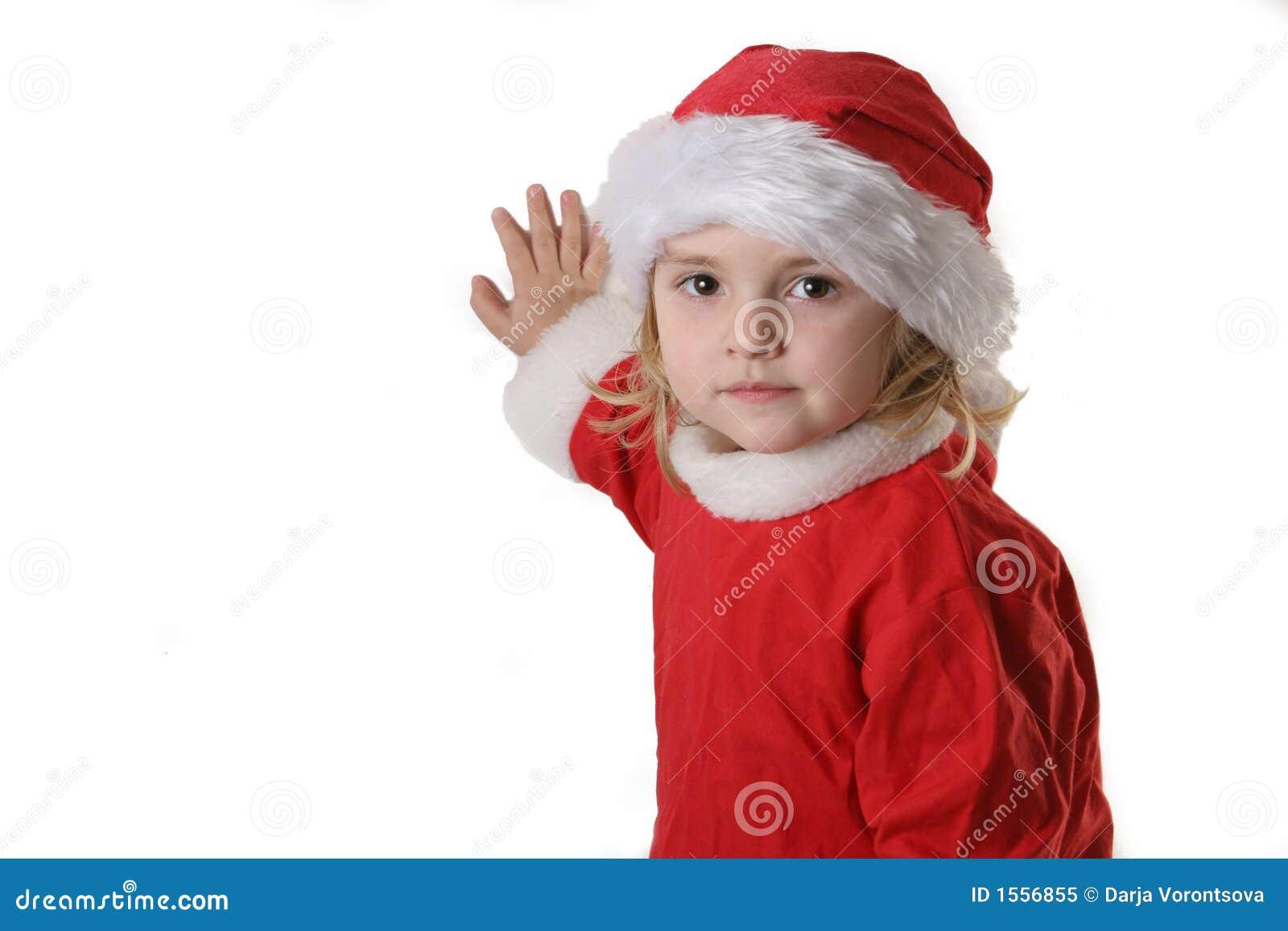 Assistente della Santa sulla neve