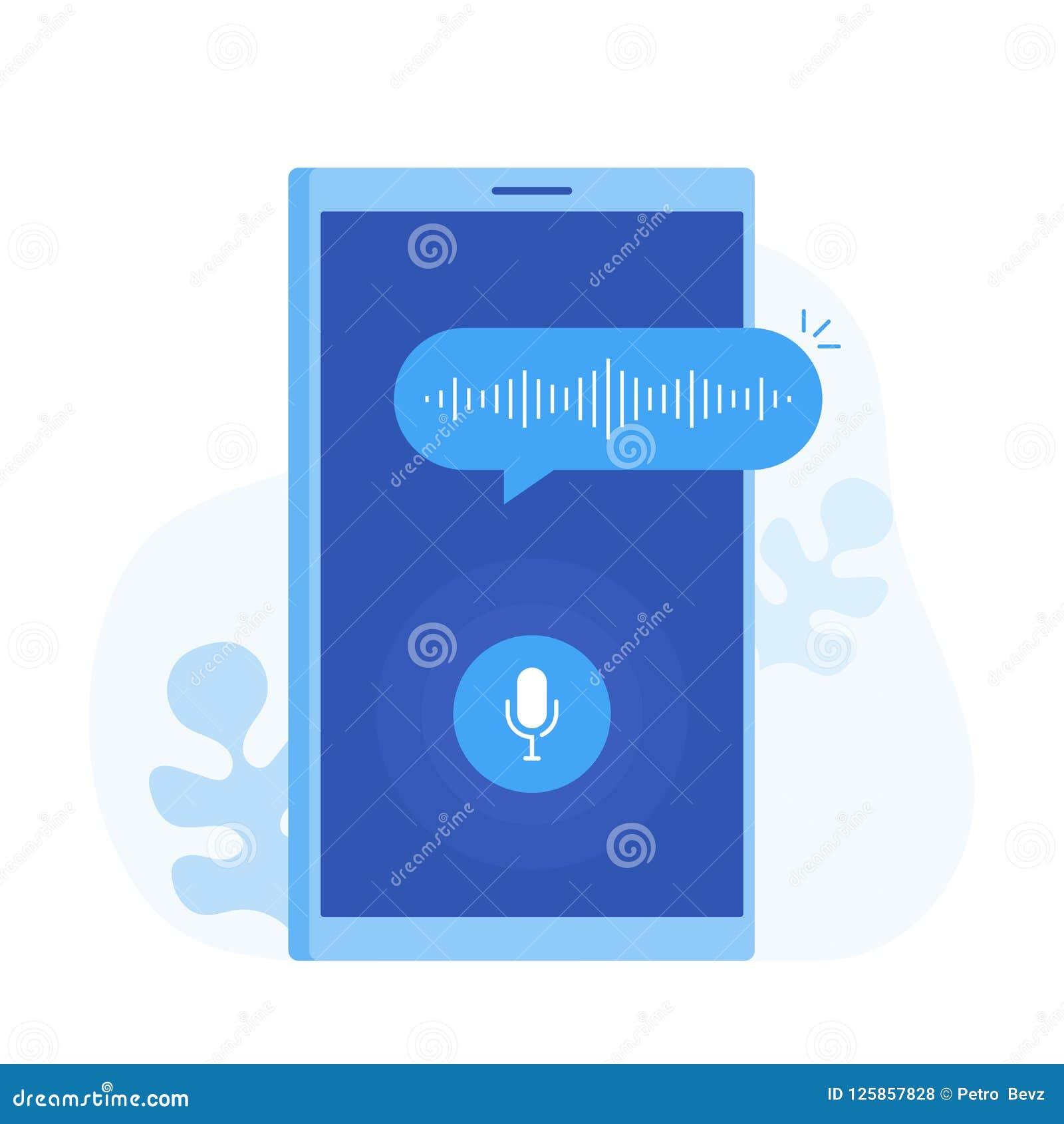 Assistente pessoal e reconhecimento de voz no app móvel