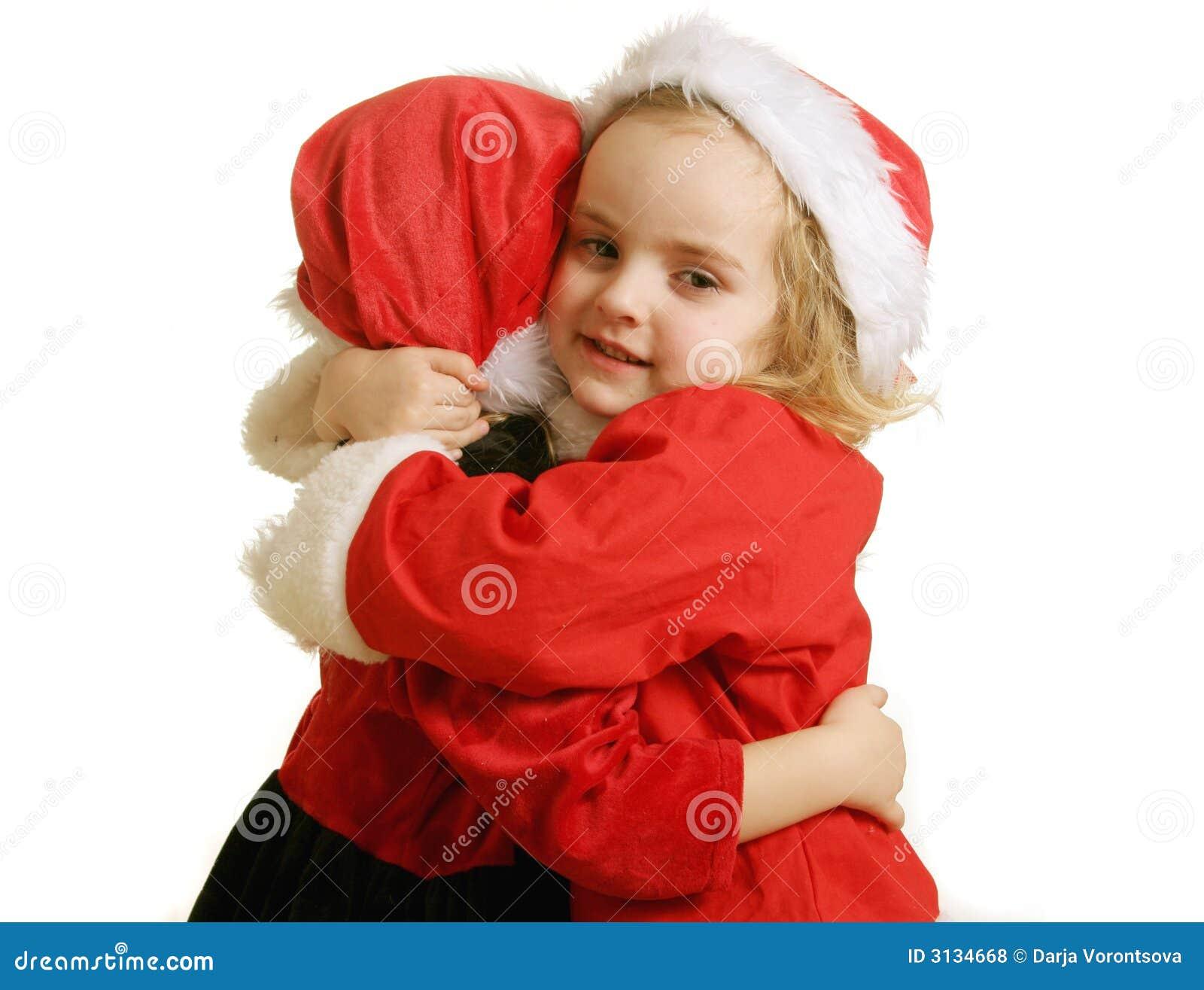 Assistenti della Santa - abbraccio