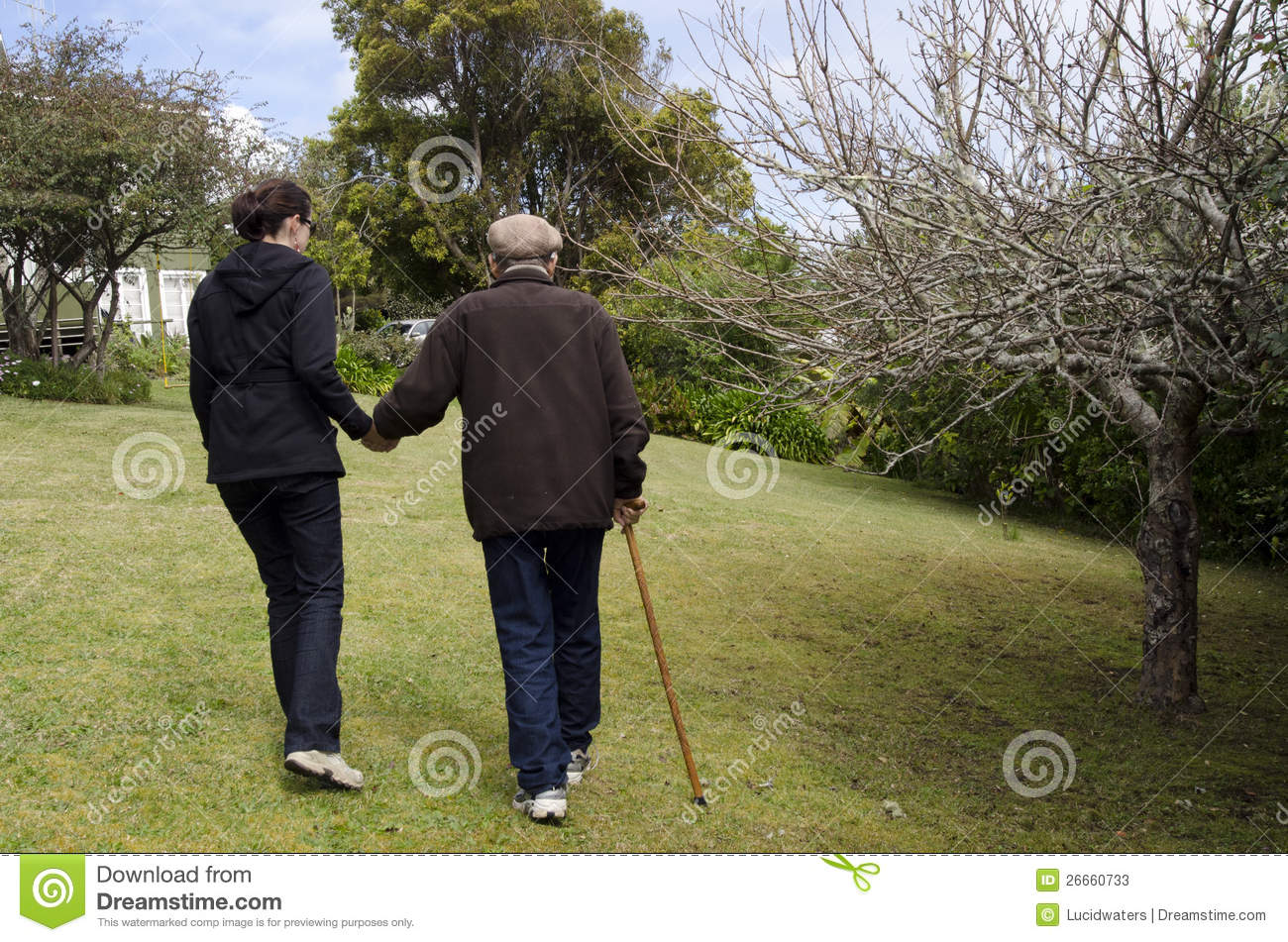 assisting and helping elderly people stock photos image