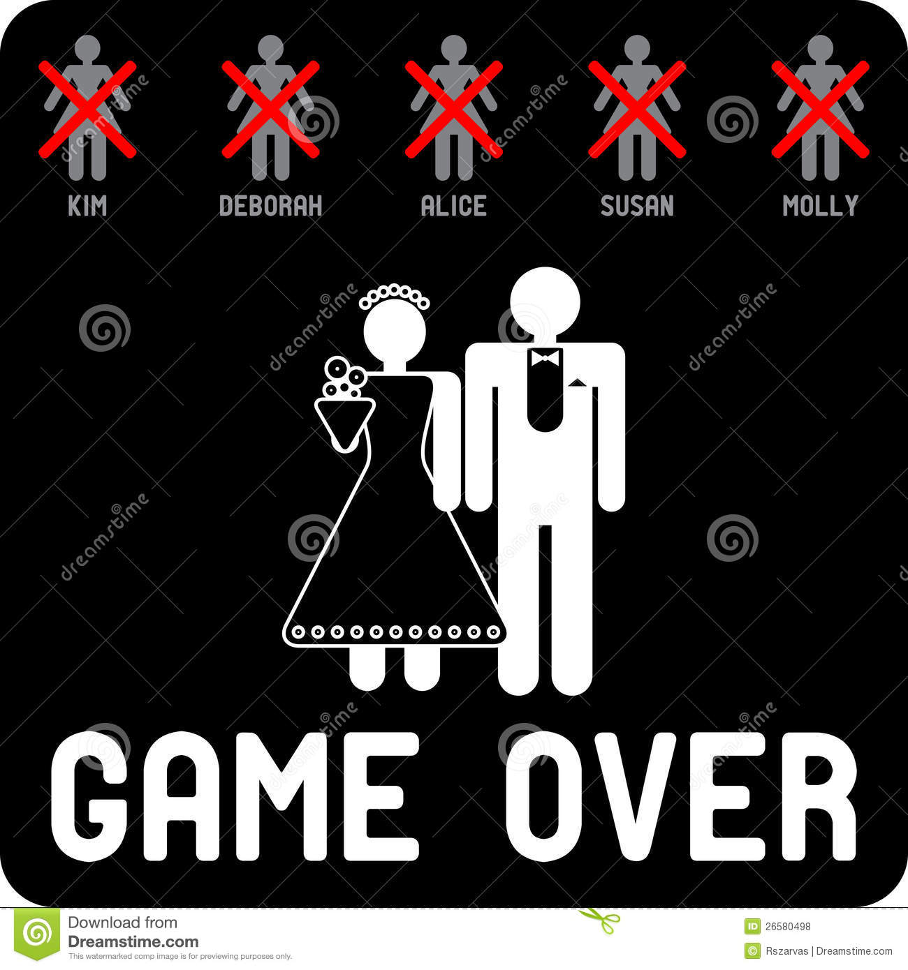 Game Over mariage