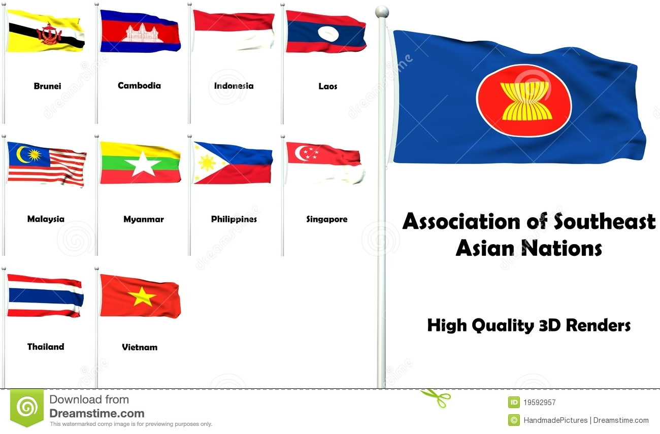 Association Of Southeast Asian Nations Royalty Free Stock Photography ...