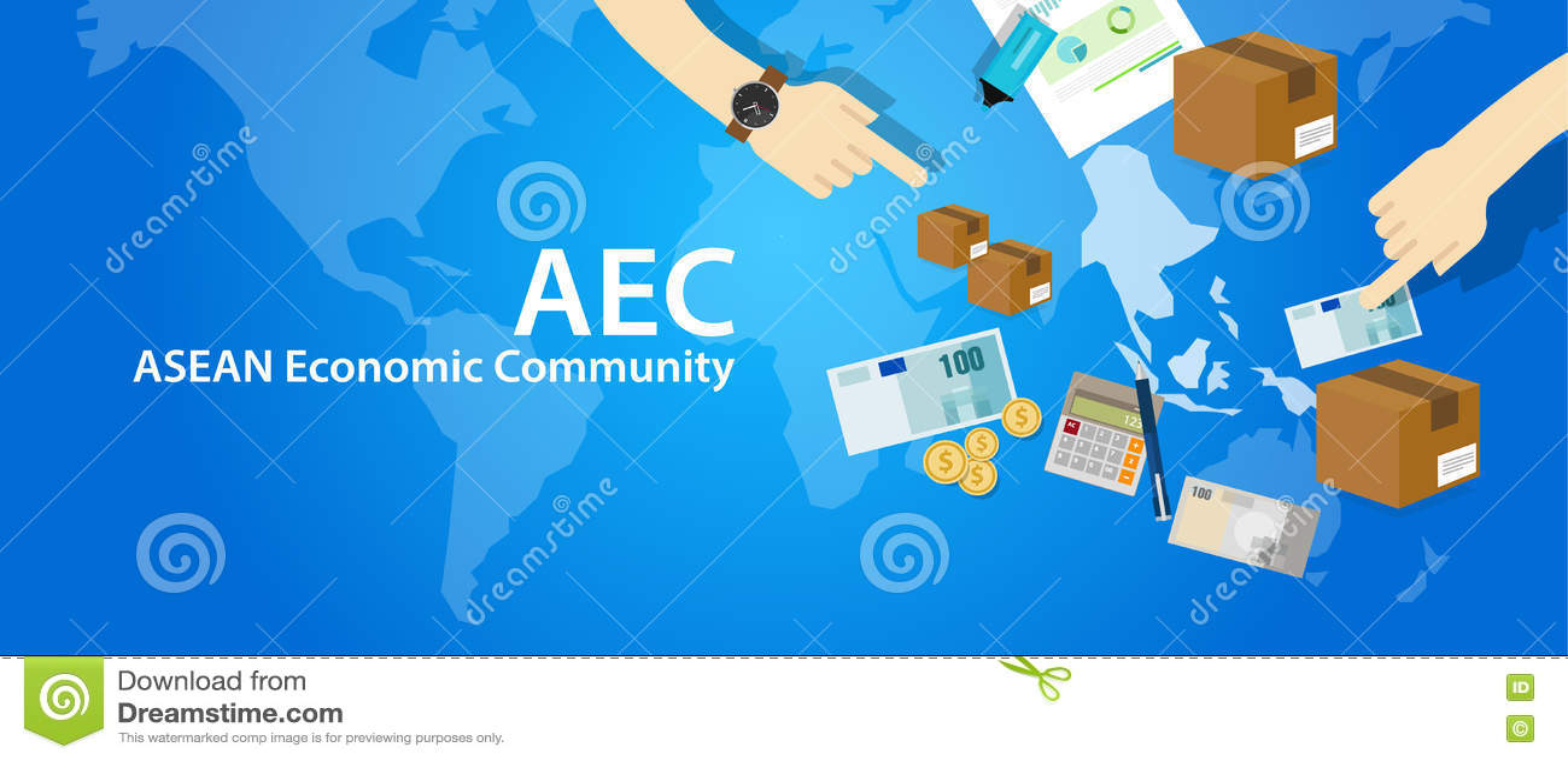 Associazione di comunità economica di ASEAN di CEA delle nazioni asiatiche sudorientali