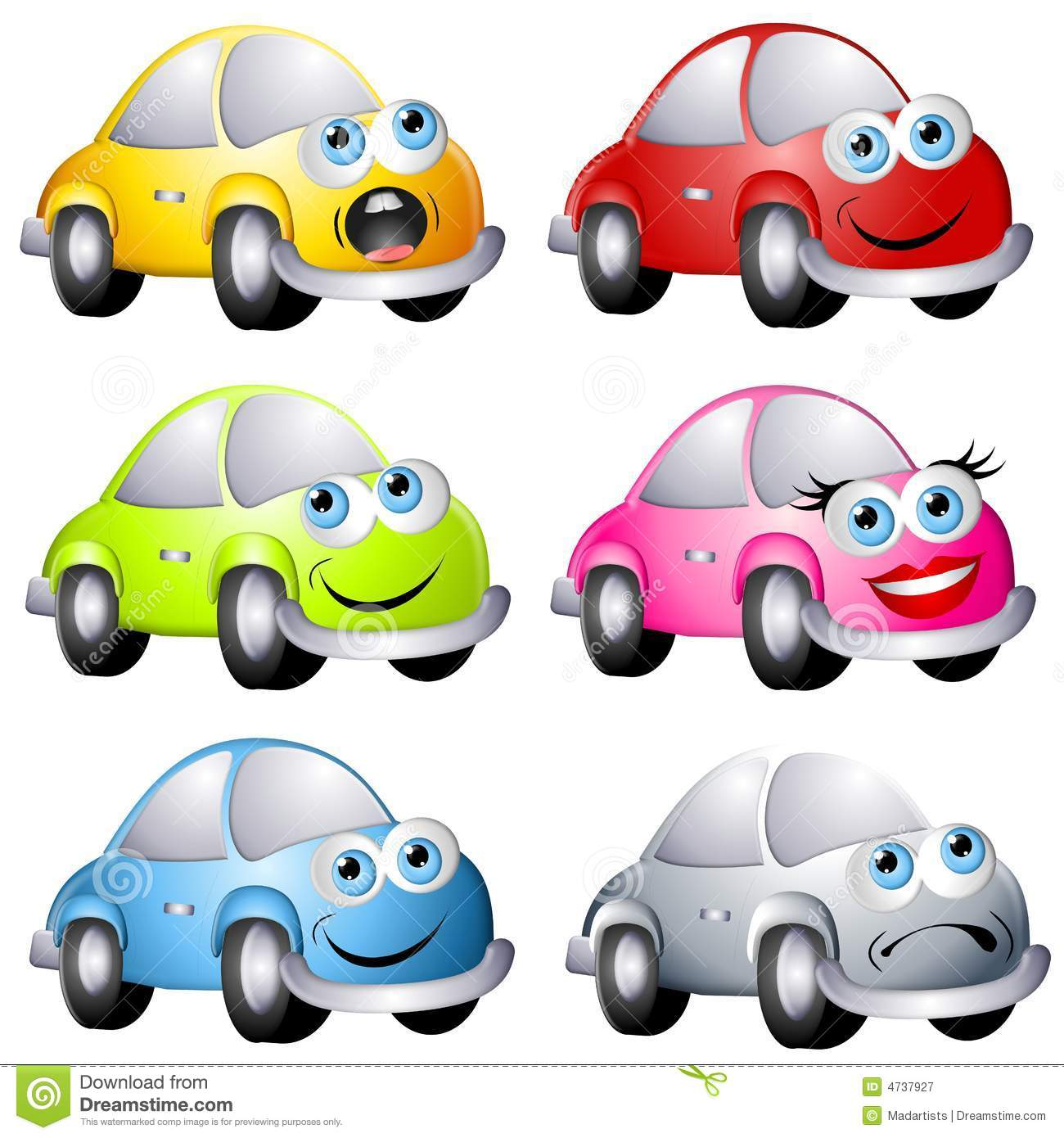 blue bug cars cartoon