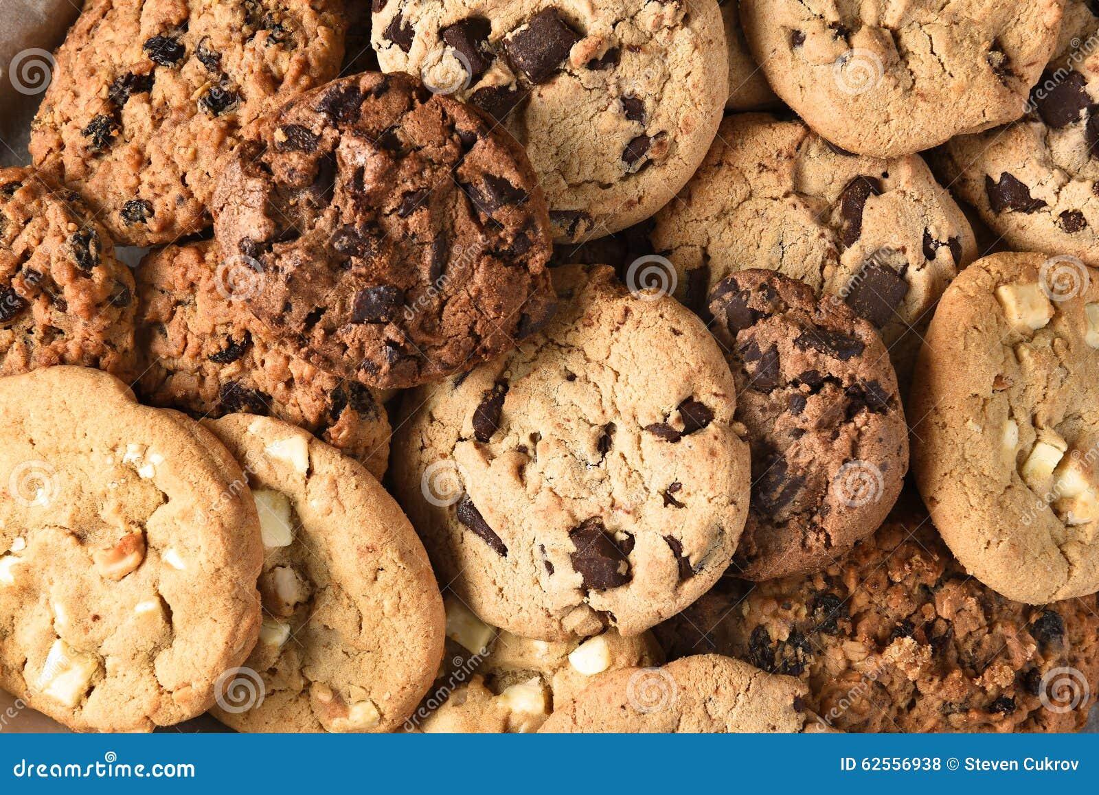 Assorted Cookie Closeup stock photo. Image of dessert ...