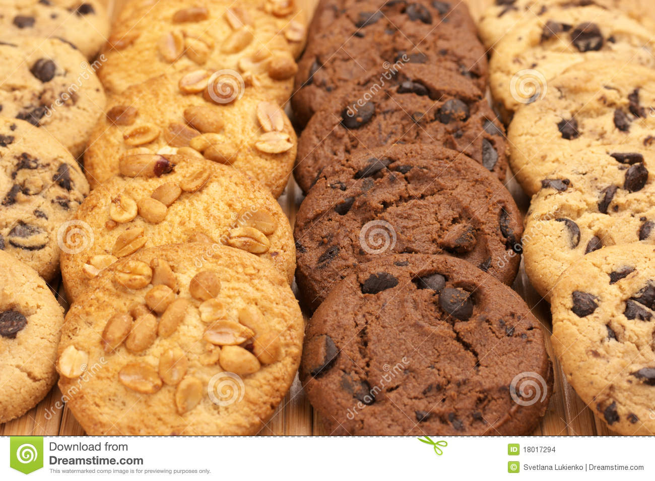 Assorted Cookies Stock Images - Image: 18017294