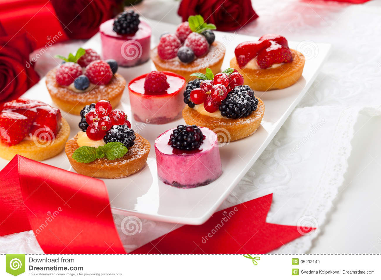 Assorted Desserts Royalty Free Stock Images Image 35233149
