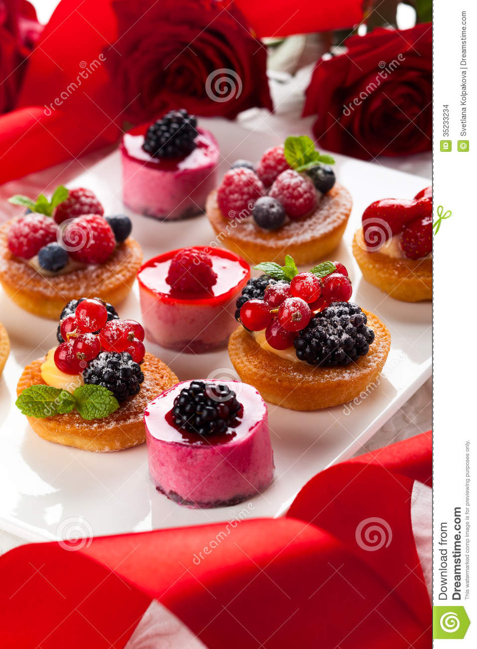 Assorted Desserts Stock Images Image 35233234