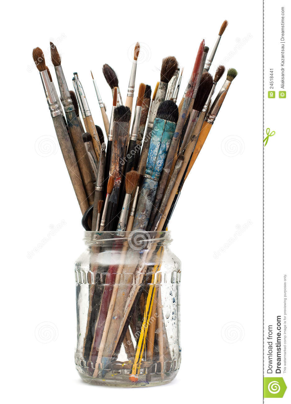 Water Jar For Paint Brushes