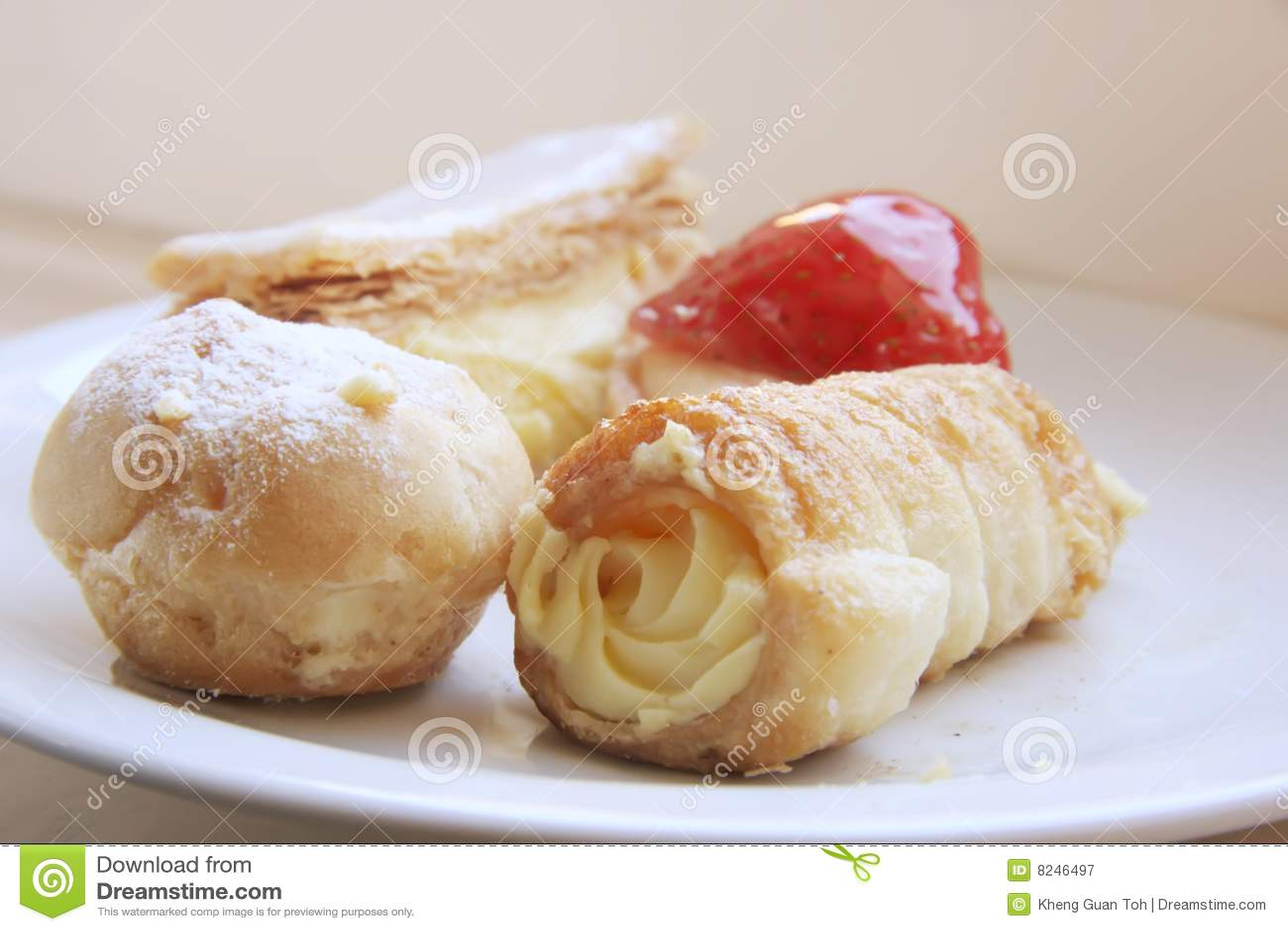 Fancy pastry
