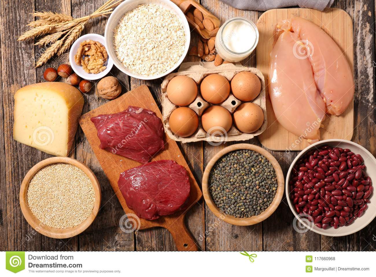 Ingredient high in protein
