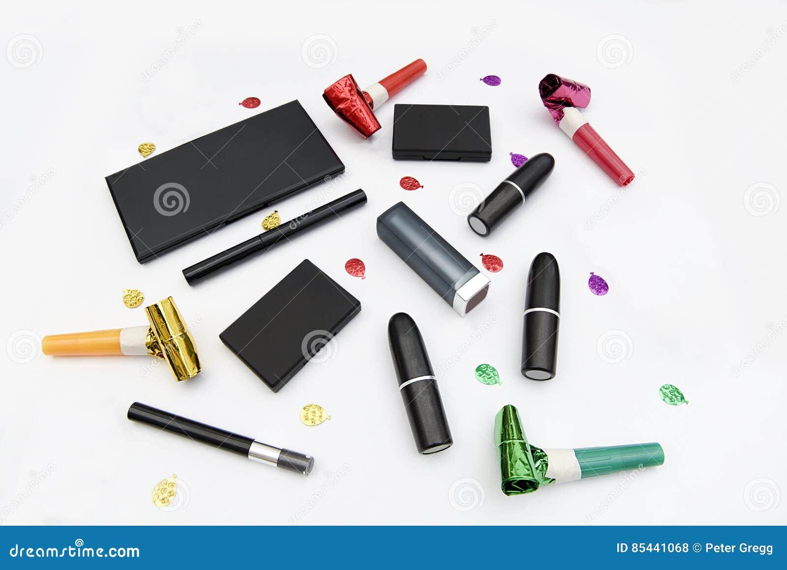 Assorted makeup items