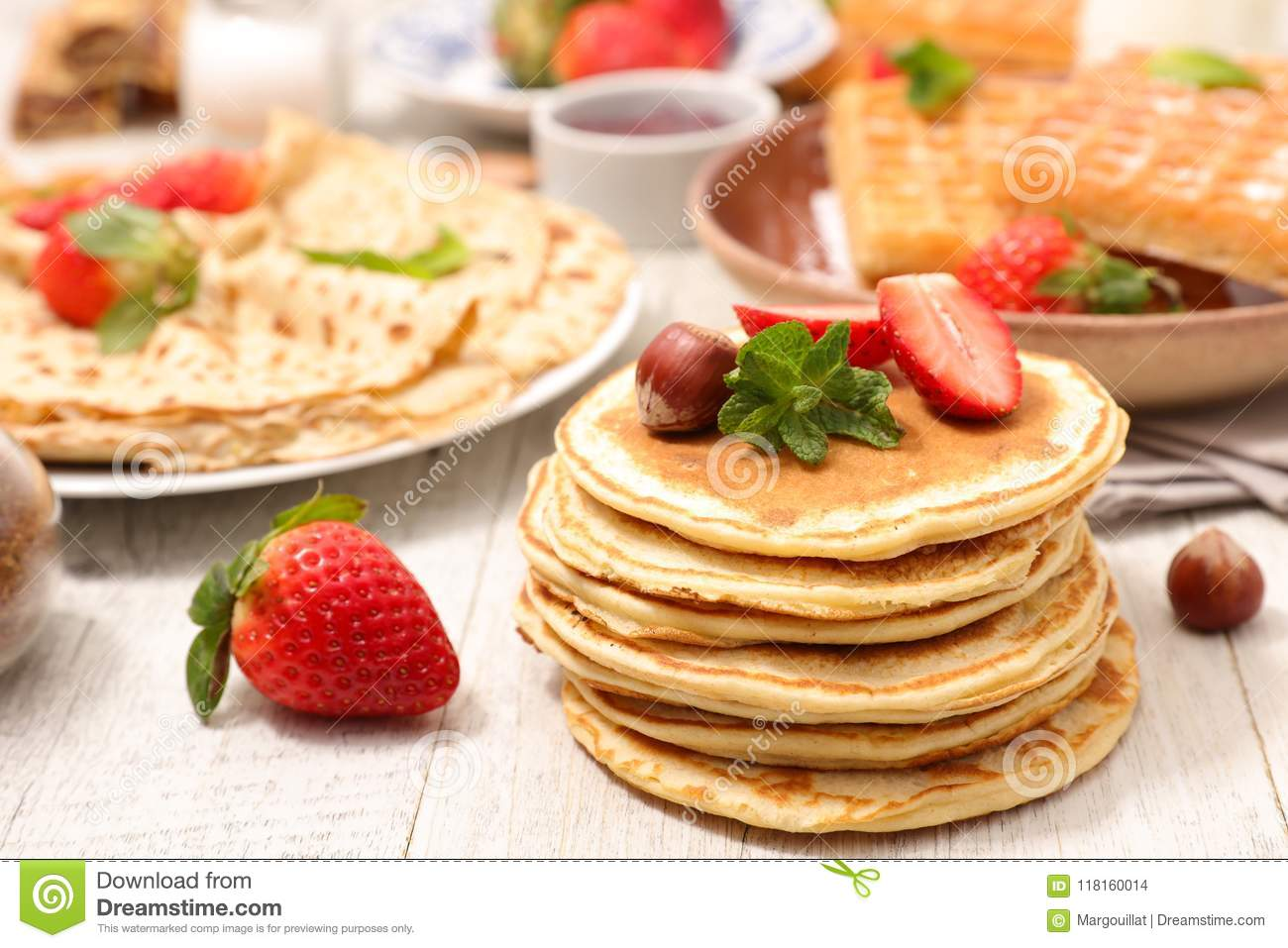 Assorted pancake