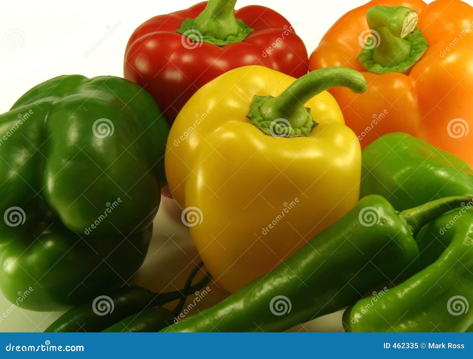 Assorted Pepper Plants