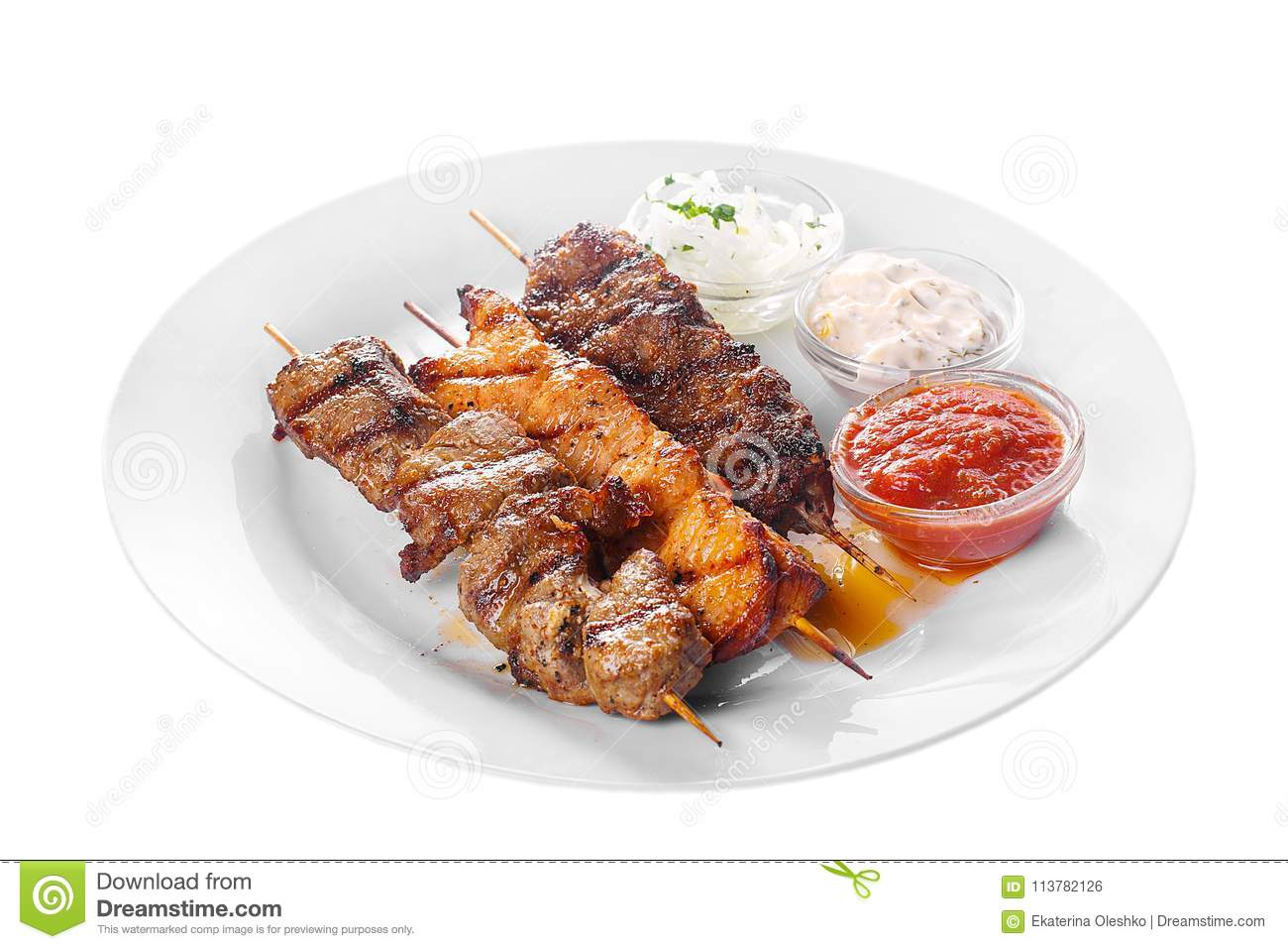 How to cook shish kebab from chicken in mayonnaise