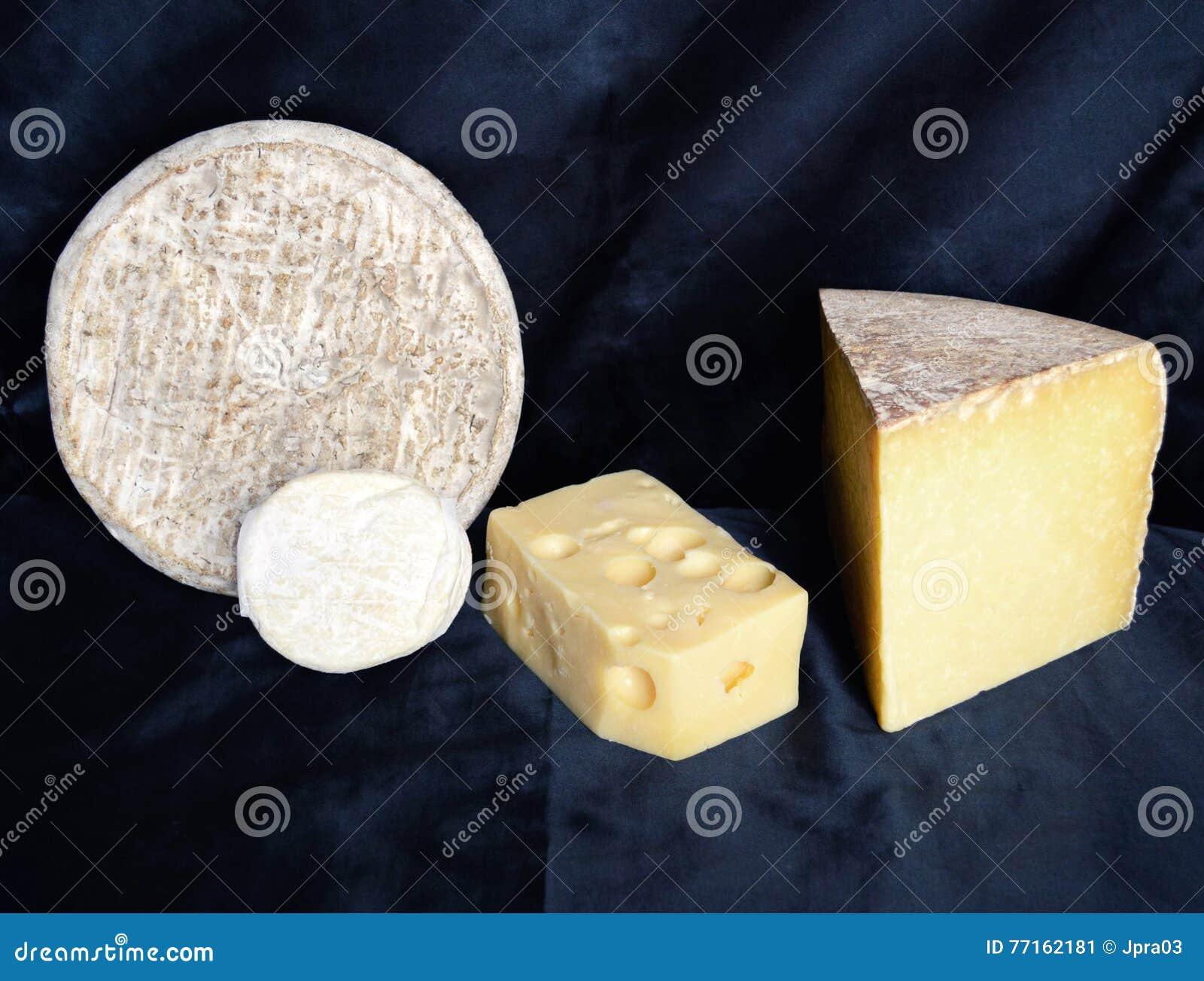 Assortiment de fromage de montagne
