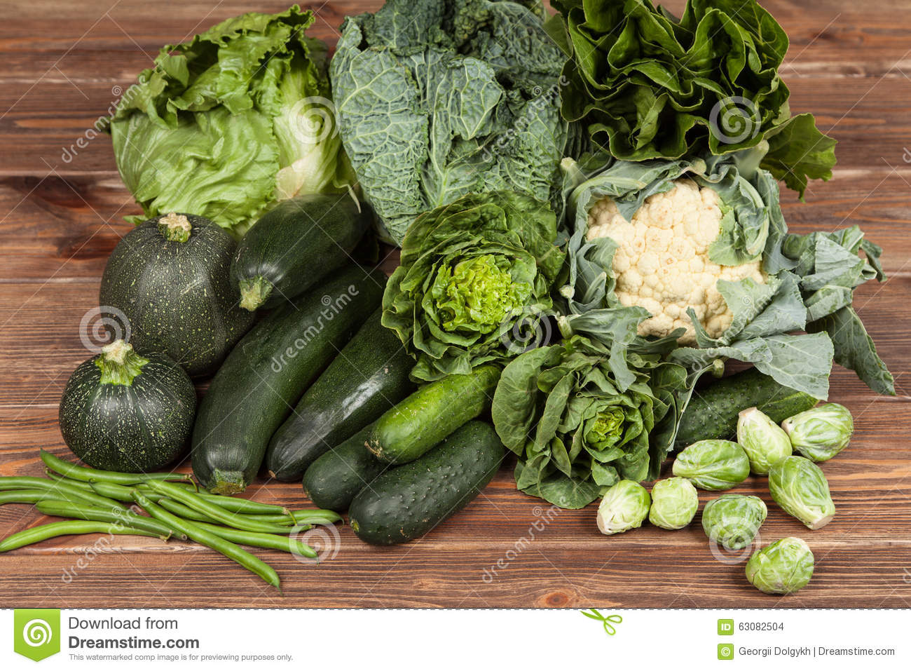 Download Assortiment Des Légumes Verts Photo stock - Image du vert, normal: 63082504