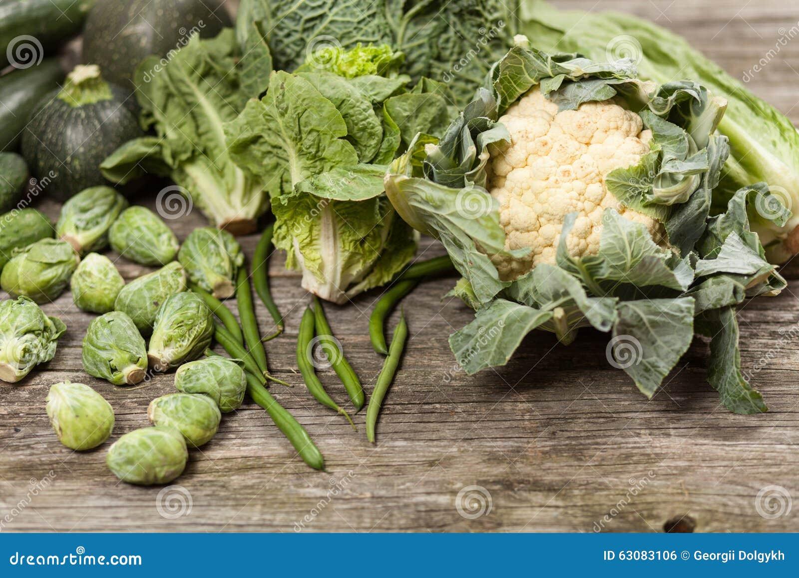 Download Assortiment Des Légumes Verts Photo stock - Image du fleur, vert: 63083106