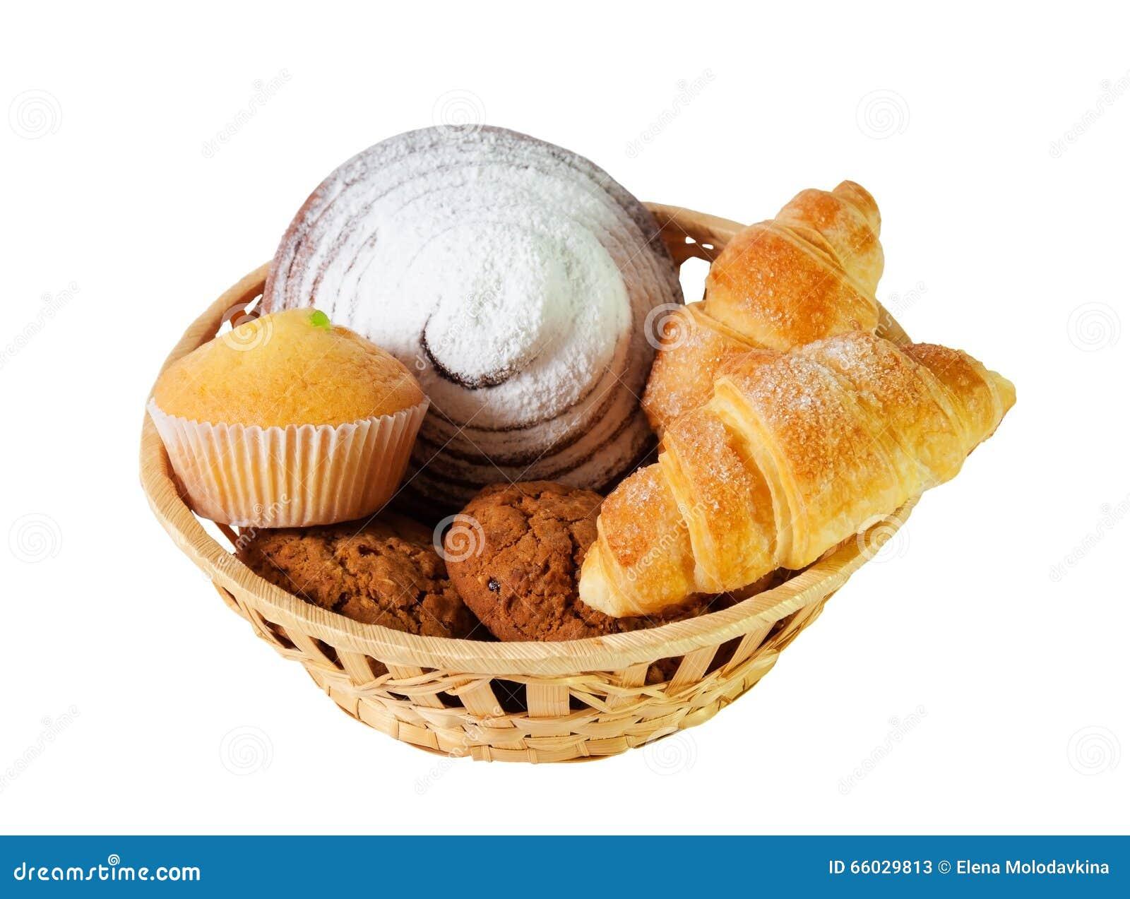 Assortiment van gebakjes en koekjes