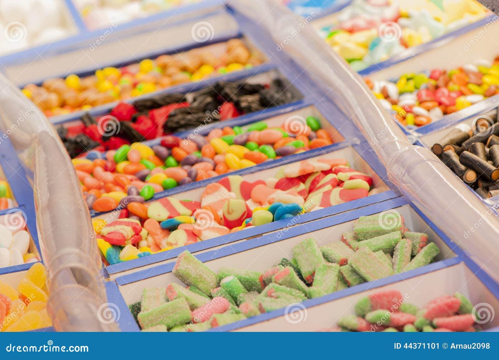 Assortimento delle caramelle