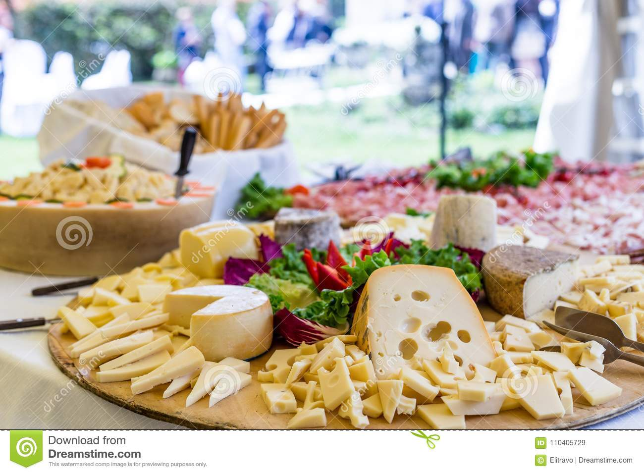 Assortment Appetizers And Finger Food Stock Image Image Of Meal