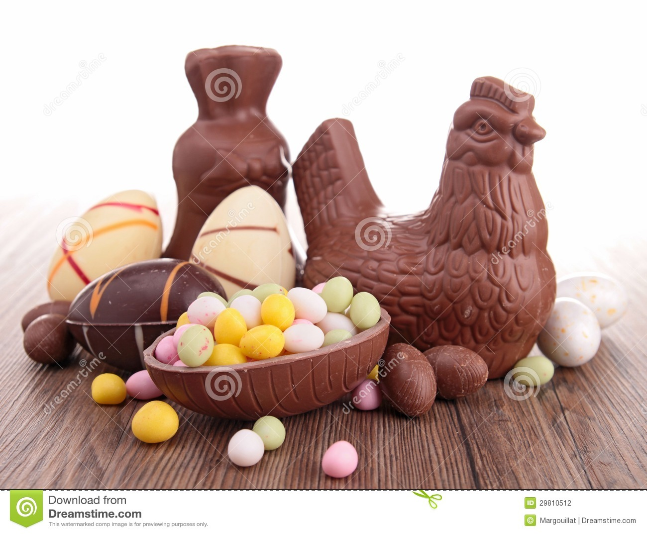 Easter Chocolates Stock Photography - Image: 29810512